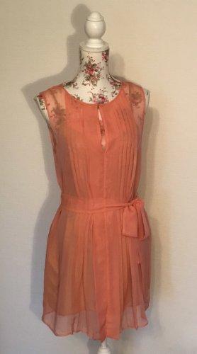 zartes Kleid in apricot - wie neu