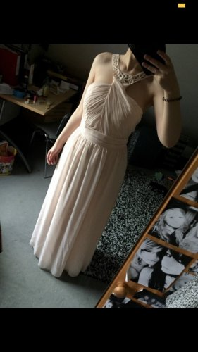 Zartes rosé Abendkleid