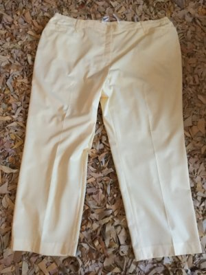 Atelier Creation Pantalon en jersey jaune primevère tissu mixte