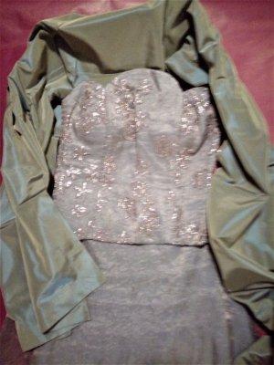 Pop Line Sukienka gorsetowa oliwkowy