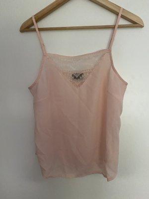 Vero Moda Podkoszulek na ramiączkach jasny różowy-różany
