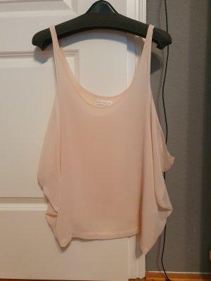 zartrosafarbene Bluse