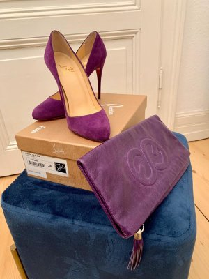 Zauberhafte Christian Louboutin Elisa Suede High-Heel Pumps NEU mit Preisschild & Originalbox