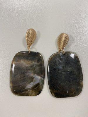 Accessoires Kolczyk ze sztyftem ochra-złoto