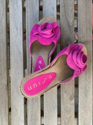 Zauberhafte Pantoletten von UNISA in Pink!