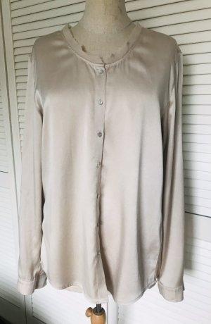 Nice Connection Blusa in seta crema