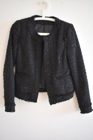 Vintage Blazer Tweed negro