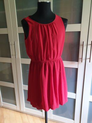 ATMOSPHÄRE Szyfonowa sukienka czerwony-ceglasty