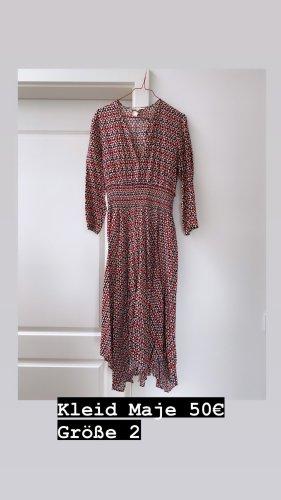 Maje Longsleeve Dress multicolored
