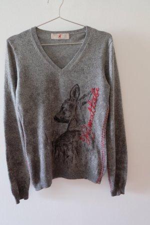 Zaubermasche Pullover Heimatliebe aus Wolle und Kaschmir