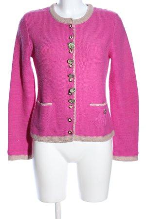 Zaubermasche Strick Cardigan pink Casual-Look