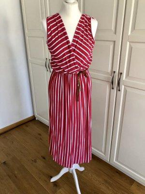 Zauberstern Kleid pink weiß gestreift L