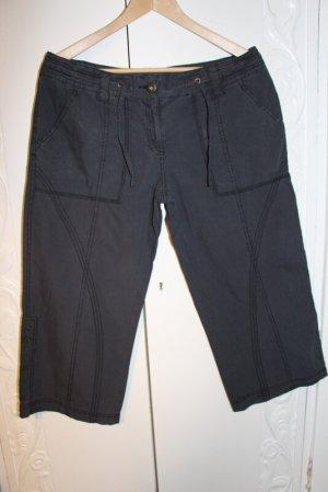 Zabaione 3/4 Length Trousers dark blue cotton