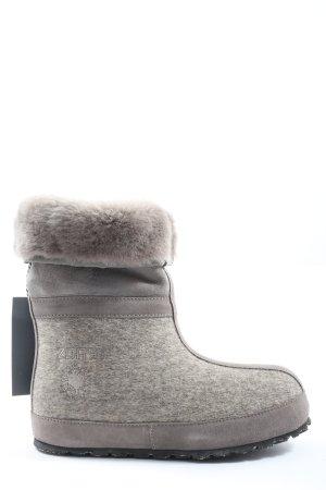ZDAR Botines de invierno gris claro moteado look casual