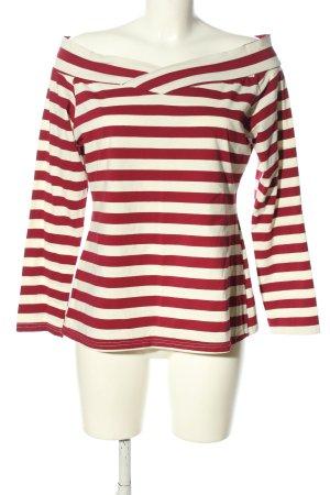 zeagoo Carmen Shirt white-red allover print casual look