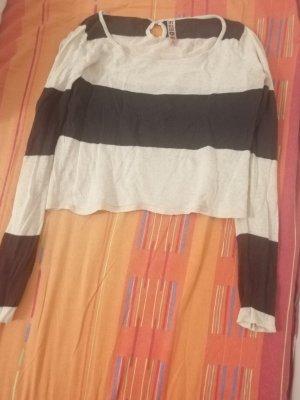 Zebra Crop Strickbluse