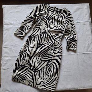 Zebra Kleid 3/4 arm
