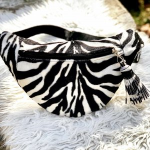 Zebra Webpelz HipBag *NEU*