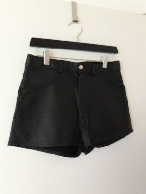 Zed Leder Hotpan/Short Gr.M schwarz Neu