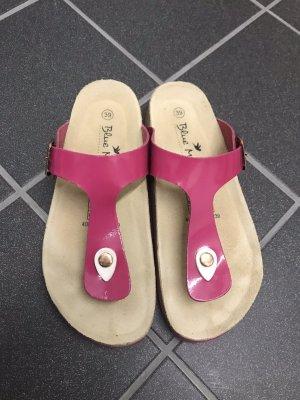 Zehen Sandalen pink Gr. 39