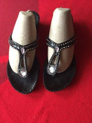 Zehen-Sandalette Größe 39