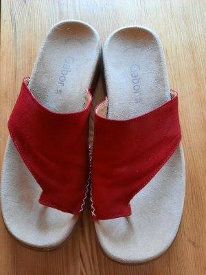 Zehen Sandaletten
