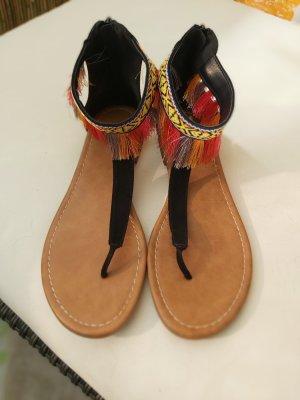 Catwalk Sandales Dianette multicolore