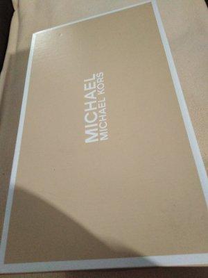 Michael Kors Entre-doig à talon haut argenté
