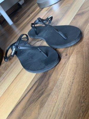 Havaianas Sandalo toe-post nero