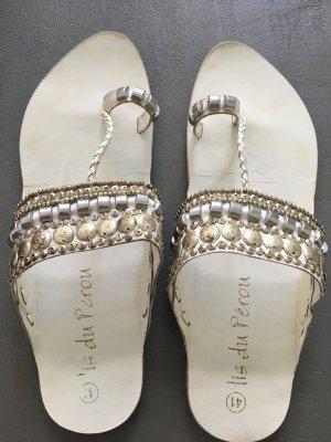 Dianette Sandals white-silver-colored
