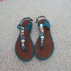Bodyflirt Sandalo toe-post blu cadetto
