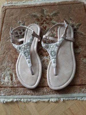 Gina Teenslippers stoffig roze-rosé