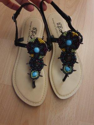 bpc Sandały korkowe  czarny