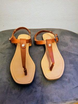 Zehentrenner - Sandalette aus Leder