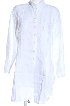 zeitlos by luana Blusa in lino bianco stile casual