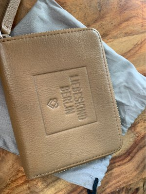 Liebeskind Berlin Wallet camel-beige leather