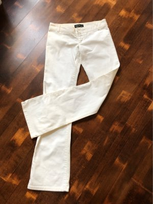 Sexy Woman Jeans large blanc
