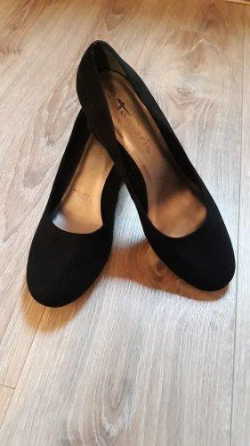Tamaris Loafers zwart