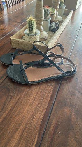 H&M Beach Sandals black