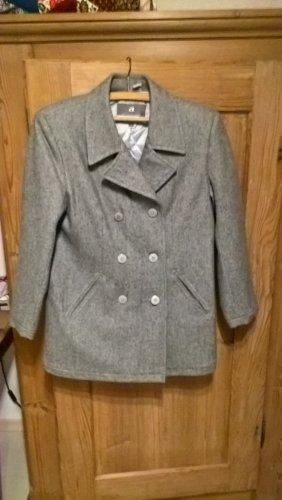 adessa Manteau court gris laine