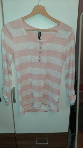 Colors of the world Basic Shirt pink-white polyester