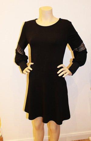Küstenjuwel Jeansowa sukienka czarny