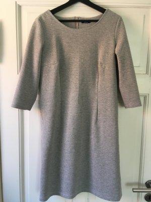 Tom Tailor Sukienka z dżerseju jasnoszary Poliester