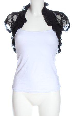 Zenana Outfitters Torera negro elegante
