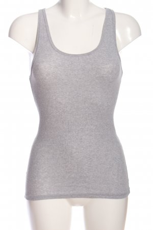 Zenana Outfitters Camisole hellgrau meliert Casual-Look
