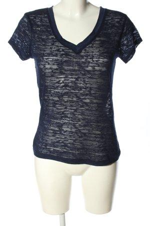 Zenana Outfitters T-Shirt blau Casual-Look