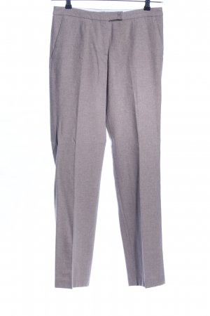 Zenggi Peg Top Trousers light grey flecked business style