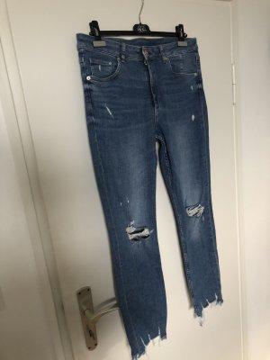 zerissene Highwaist Jeans