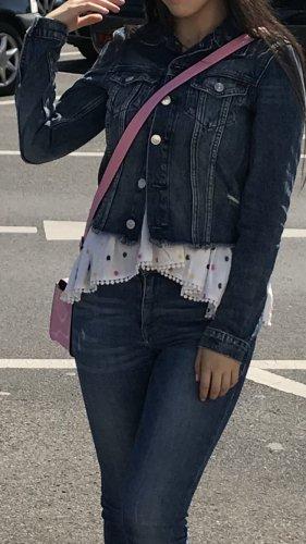 Zerissene Jeans jacke