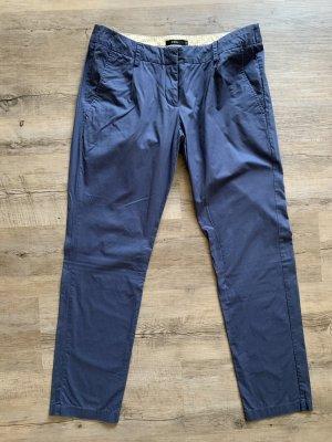 Zero Pantalone chino blu fiordaliso